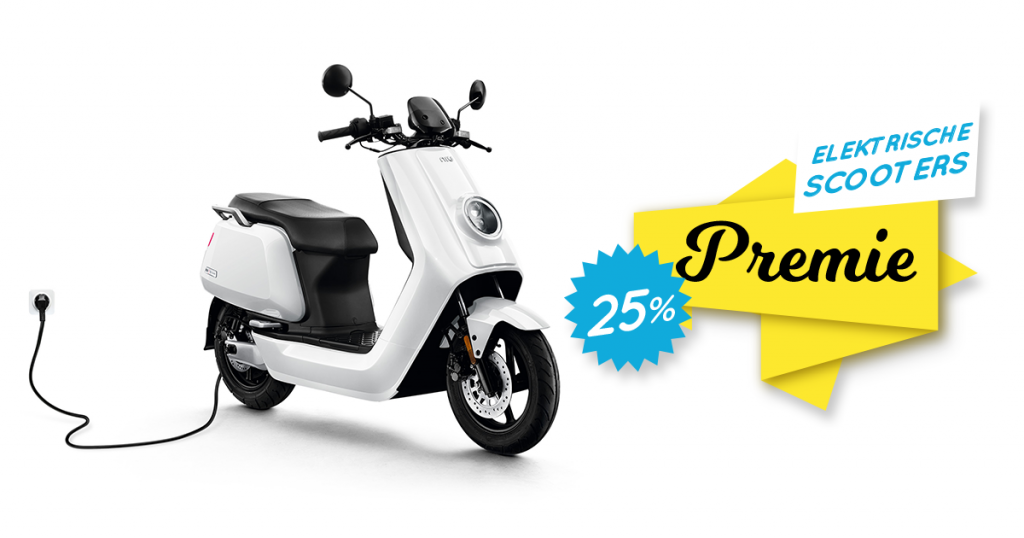 25% elektrische scooters