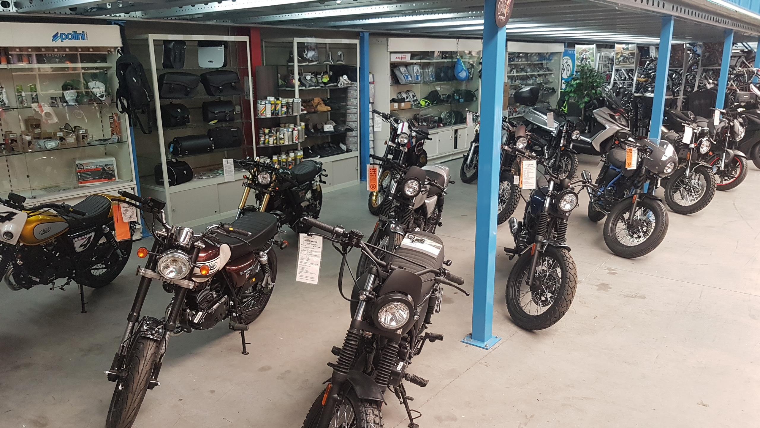 Benzine Motorfietsen