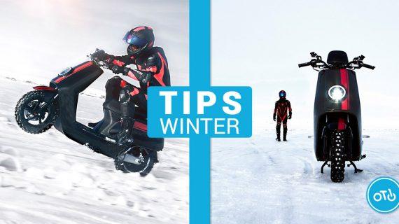 Tips om uw  scooter beter te  onderhouden tijdens de winter