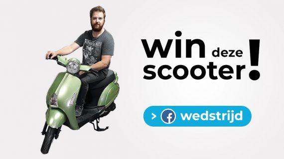 Win een scooter! – Facebook wedstrijd